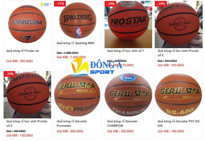 Giá quả bóng rổ