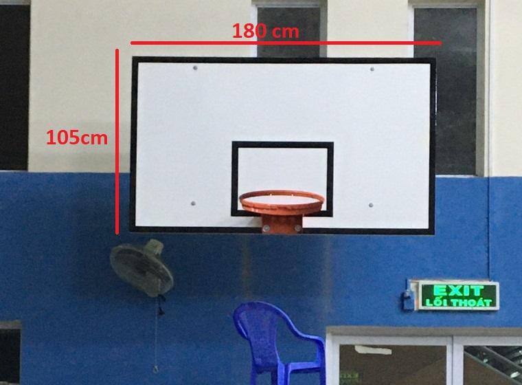 Kich thước bảng bóng rổ chuẩn FIBA