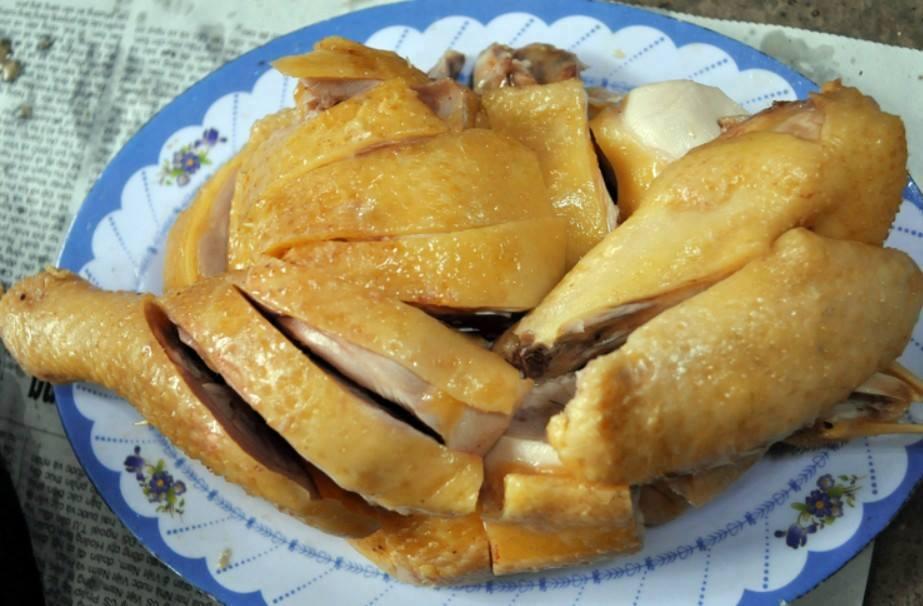 Thịt gà giúp tăng chiều cao