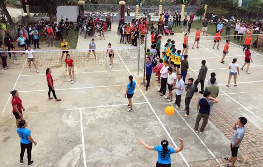 Chơi bóng chuyền đem lại sự kết nối gần nhau hơn