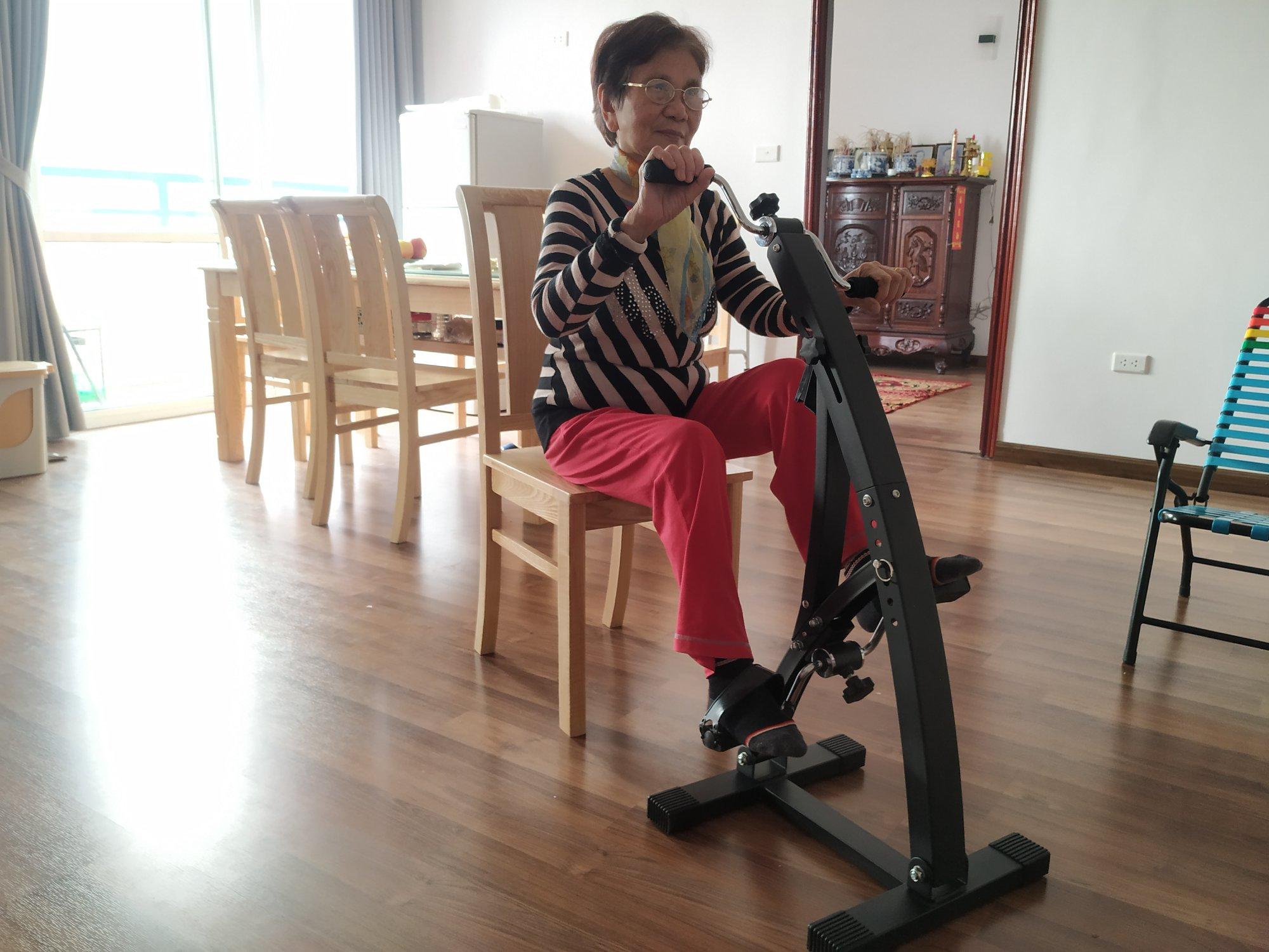 Xe đạp tập thể dục Dual Bike cho người già