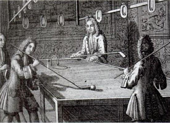 Những hình ảnh đầu tiên về cơ bida