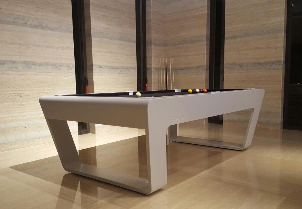 Thiết kế sang trọng của bàn Porsche's 24/7 billiard table