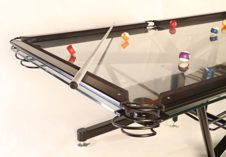 """Bàn """"G-1 Glass Top Pool Table"""""""
