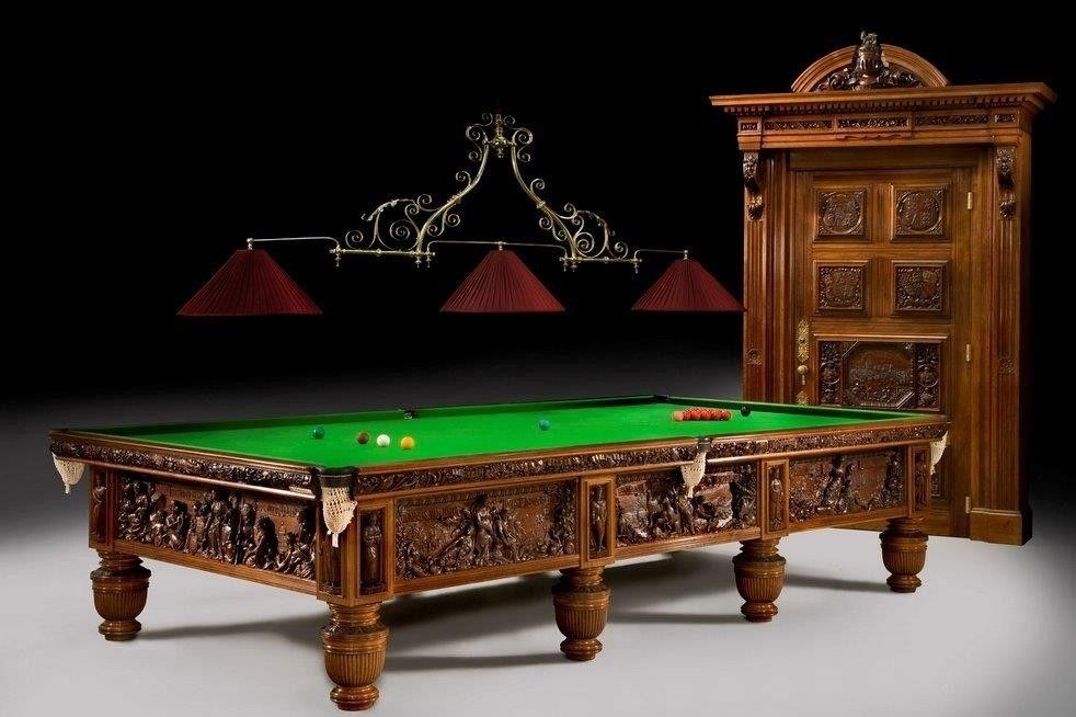 Bàn bida Queen Victoria's Jubilee Billiard đắt nhất thế giới