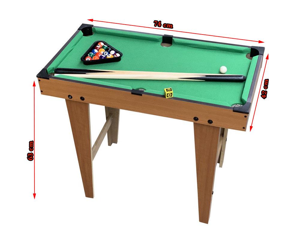 Kích thước bàn bida OEM