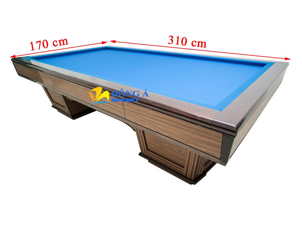 Kích thước bàn bi a 3 băng