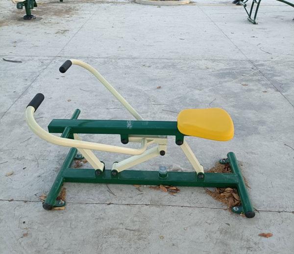 Hình ảnh máy tập chèo thuyền NT-609 tại công viên
