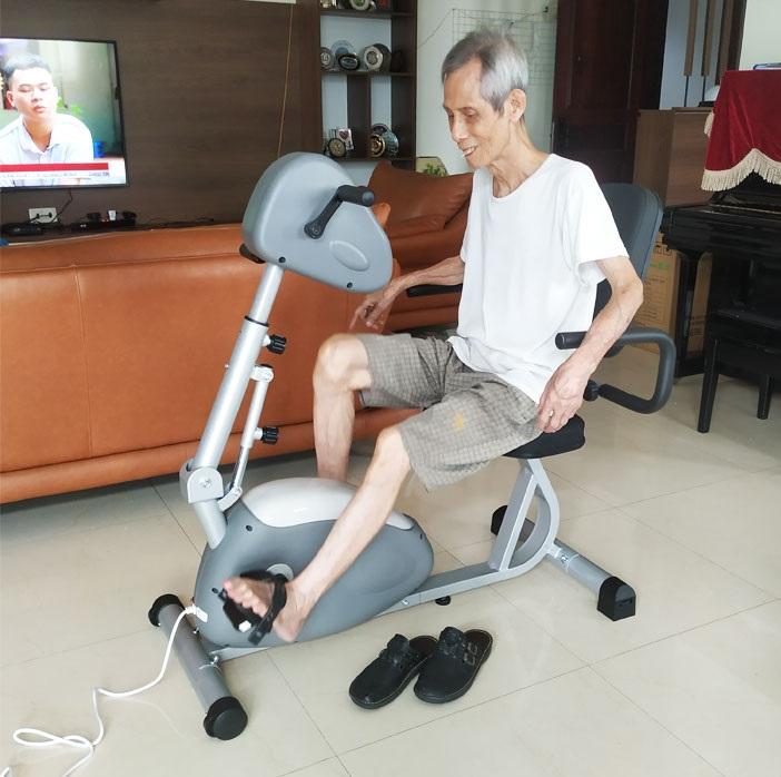 Các bài tập đạp xe giúp tăng cường và cải thiện hiện quả hệ thống xương khớp