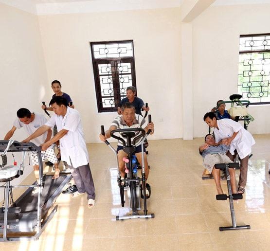 Tập luyện với xe tập thể dục gần như không gây ra các chấn thương