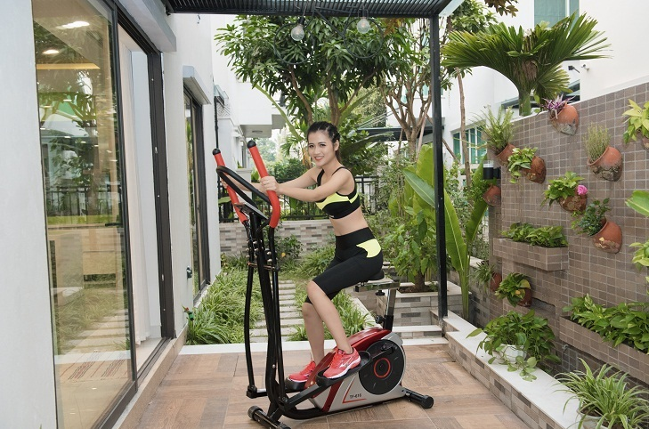 Xe đạp thể dục có thể lắp đặt và sử dụng ngay tại nhà