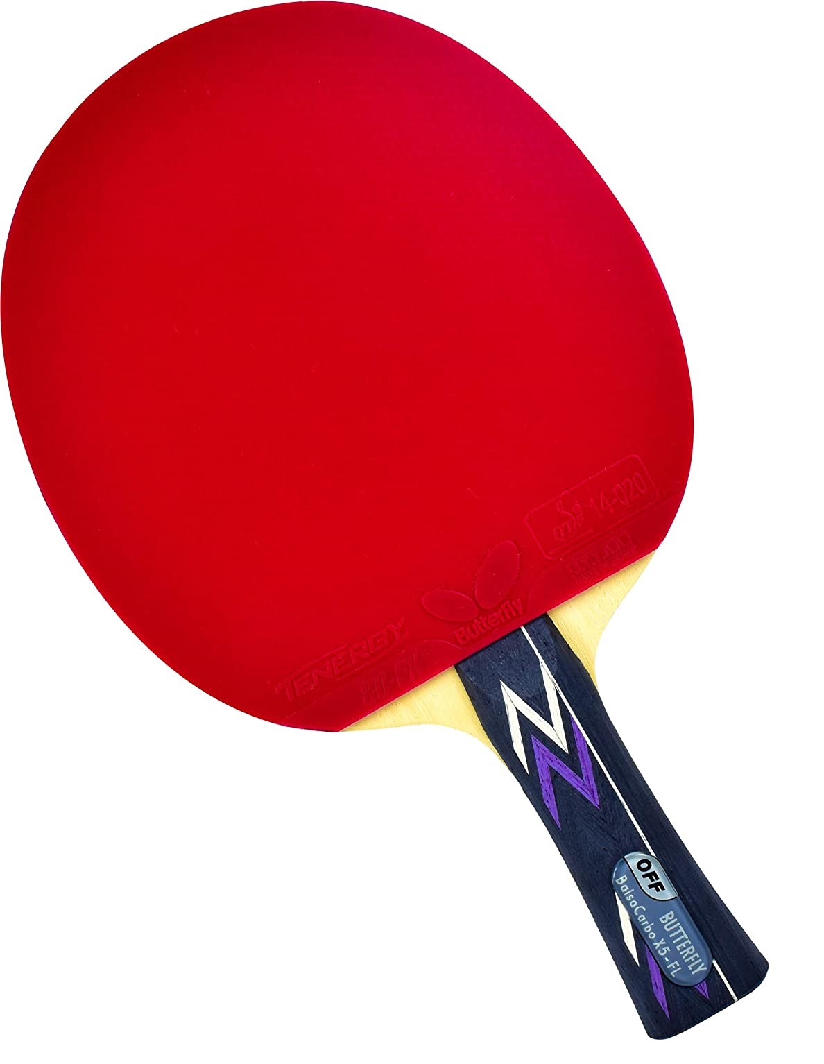 Vợt bóng bàn Butterfly Pro-Line Balsa Carbo X5