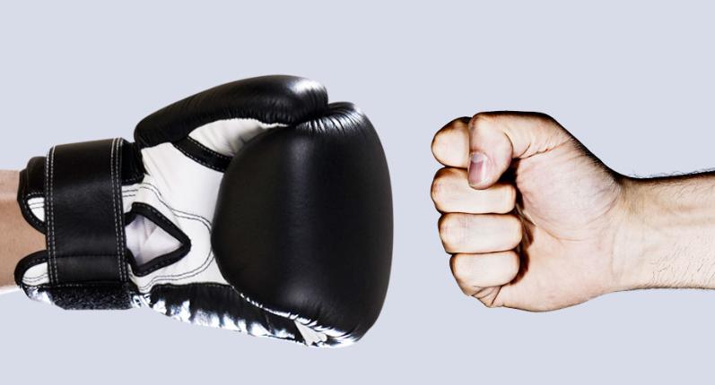 Nên lựa chọn găng tay có kích thước và trọng lượng phù hợp với người dùng