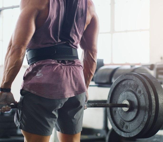 Đai lưng tập gym