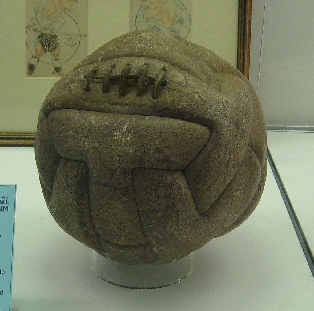 Hinh ảnh trái banh đá bóng từ xưa