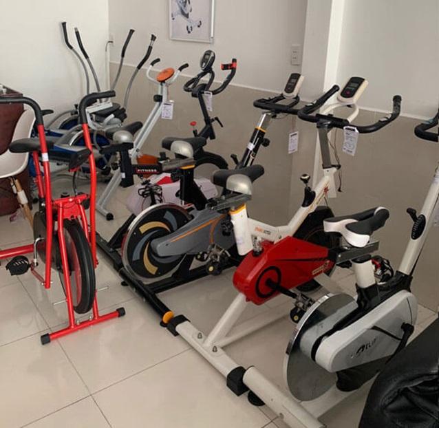 Xe đạp tập thể dục thanh lý là lựa chọn chứa nhiều yếu tố rủi ro